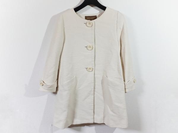 MACPHEE(マカフィ) コート サイズ38 M レディース美品  アイボリー 春・秋物
