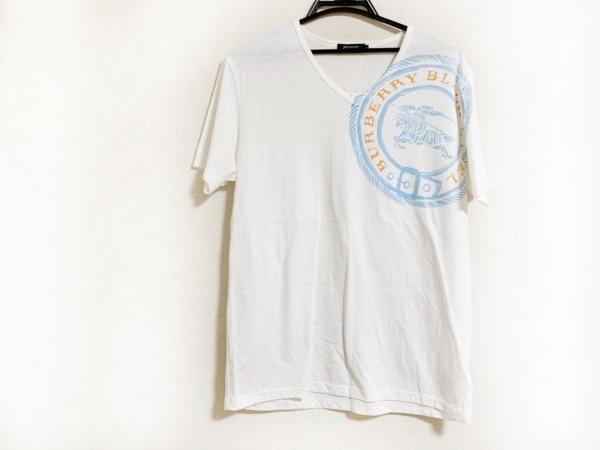 バーバリーブラックレーベル 半袖Tシャツ サイズ3 L メンズ美品