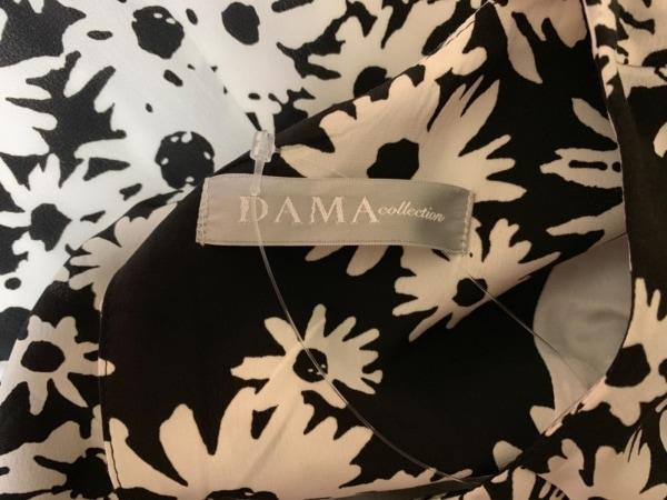 DAMAcollection(ダーマコレクション) ワンピース レディース美品  黒×白 花柄
