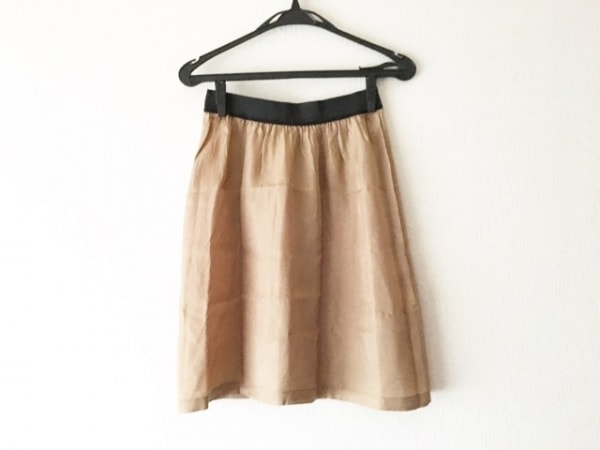 TOGA PULLA(トーガプルラ) スカート サイズF レディース美品  ベージュ×黒