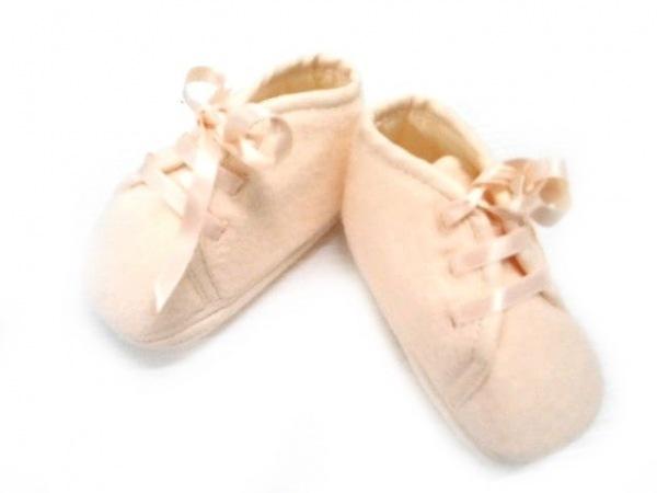 HERMES(エルメス) 靴 ユニセックス美品  - ベージュ ベビーシューズ ウール