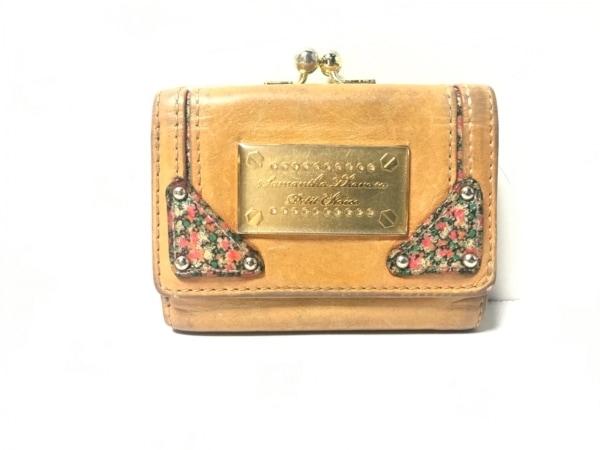 サマンサタバサプチチョイス 3つ折り財布 ブラウン レザー 1