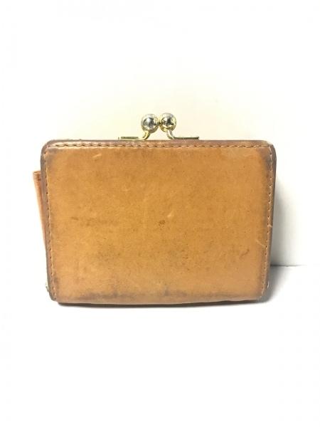 サマンサタバサプチチョイス 3つ折り財布 ブラウン レザー 2