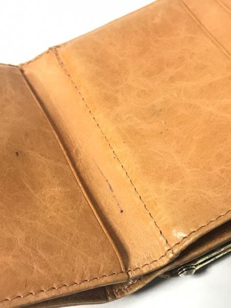 サマンサタバサプチチョイス 3つ折り財布 ブラウン レザー 6