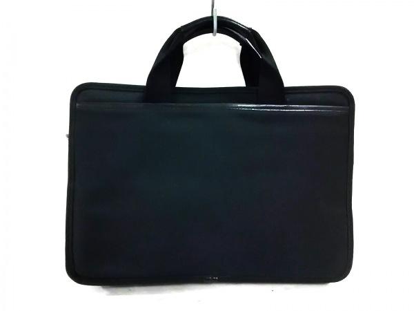 hartmann(ハートマン) ビジネスバッグ 黒 化学繊維×レザー