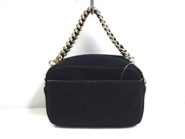 HASHIBAMI(ハシバミ) ハンドバッグ 黒 スエード