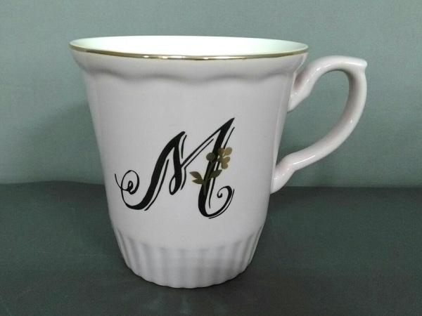 Afternoon Tea(アフタヌーンティー) マグカップ新品同様  ピンク×黒×ゴールド 陶器