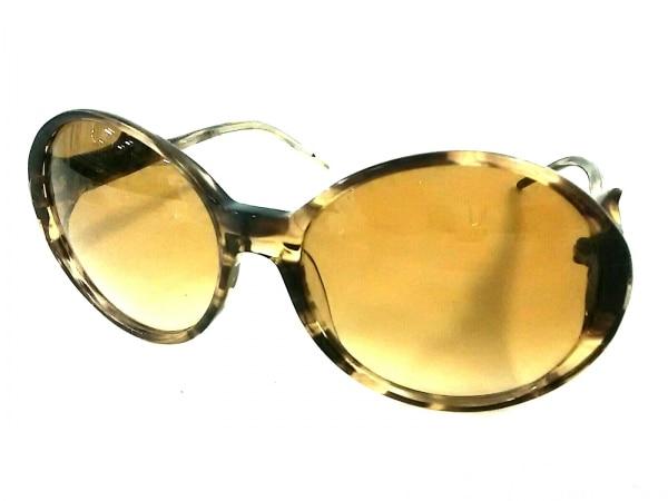 ロジェヴィヴィエ サングラス ダークブラウン×ゴールド プラスチック×金属素材