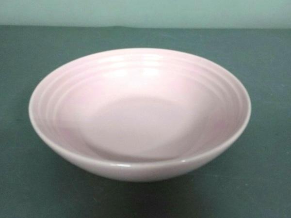 LE CREUSET(ルクルーゼ) プレート新品同様  ピンク 陶器