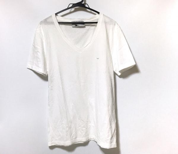 Kitsune(キツネ) 半袖Tシャツ サイズM メンズ美品  白