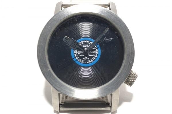 AKTEO(アクティオ) 腕時計 - レディース 黒×ブルー