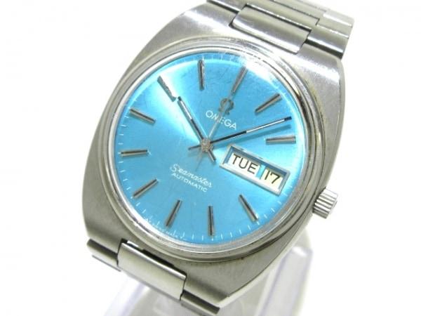 OMEGA(オメガ) 腕時計 シーマスター - メンズ ライトブルー