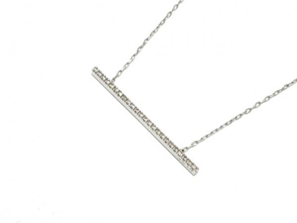 Hirotaka(ヒロタカ) ネックレス美品  K10×ダイヤモンド 0.12カラット