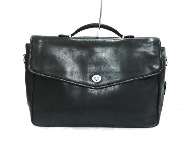 COACH(コーチ) ビジネスバッグ - 6457 黒 レザー