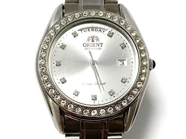 ORIENT(オリエント) 腕時計 EV06-C1 CS メンズ シルバー