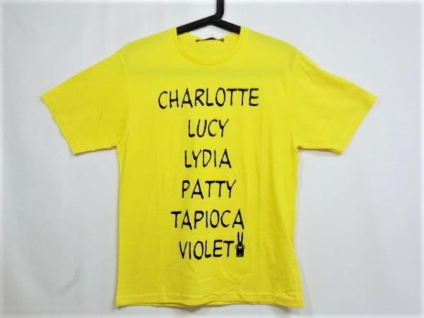 ピーターイェンセン 半袖Tシャツ サイズS レディース美品  イエロー xPEANUTS