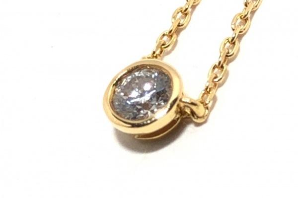 VENDOME(ヴァンドーム青山) ネックレス K18YG×ダイヤモンド 1Pダイヤ/0.115カラット