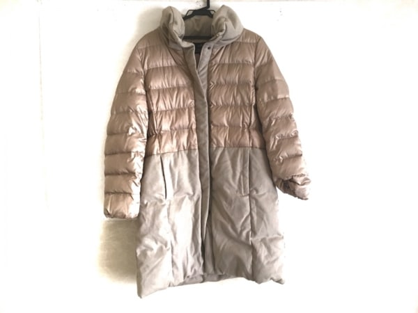 23区(ニジュウサンク) ダウンコート サイズ46 XL レディース美品  ベージュ
