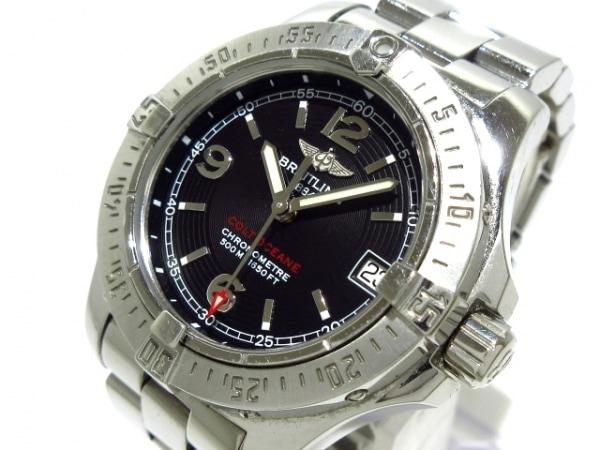 BREITLING(ブライトリング) 腕時計 コルトオーシャン A77380 レディース 黒