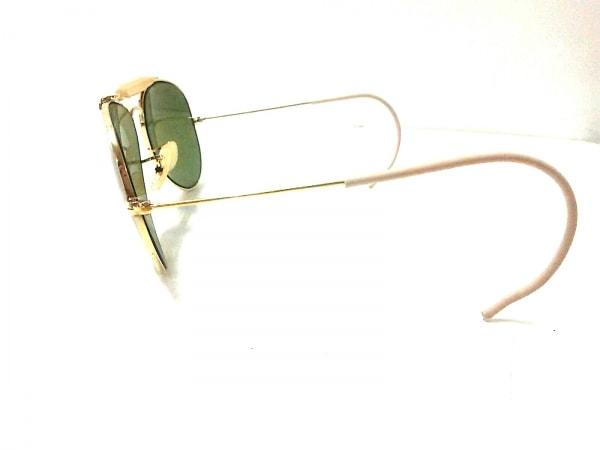 55ab89b064c6fa ... レイバン サングラス美品 - カーキ×ゴールド×ベージュ プラスチック×金属素材 ...