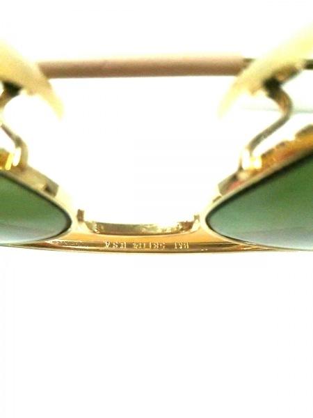 303e7cffa6f804 ... レイバン サングラス美品 - カーキ×ゴールド×ベージュ プラスチック×金属素材