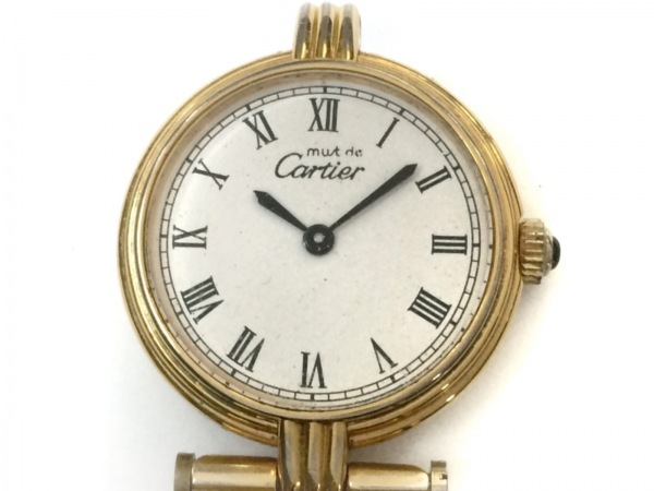 Cartier(カルティエ) 腕時計 ヴァンドーム - レディース 白