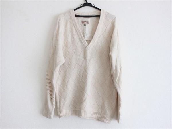 ザドレスアンドコー 長袖セーター サイズ38 M レディース美品  ベージュ