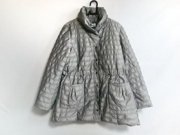 Seninon(セニノン) ダウンコート サイズ2 M レディース美品  ライトグレー 冬物