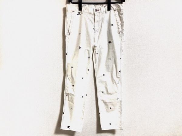 SINACOVA(シナコバ) パンツ サイズ84 メンズ美品  白×レッド×ネイビー マリン柄