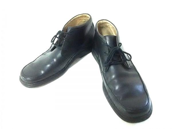 Clarks(クラークス) ブーツ 9 メンズ 黒 レザー