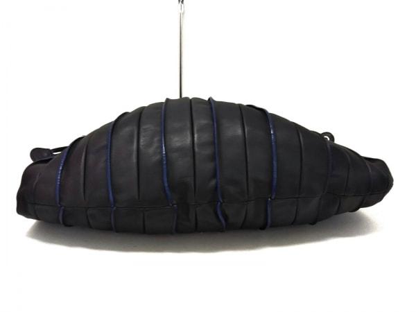 LUPO(ルポ) トートバッグ新品同様  アバニコ 黒 巾着型 レザー