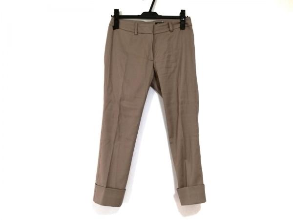 M.Fil(エム.フィル) パンツ サイズ34 S レディース ブラウン