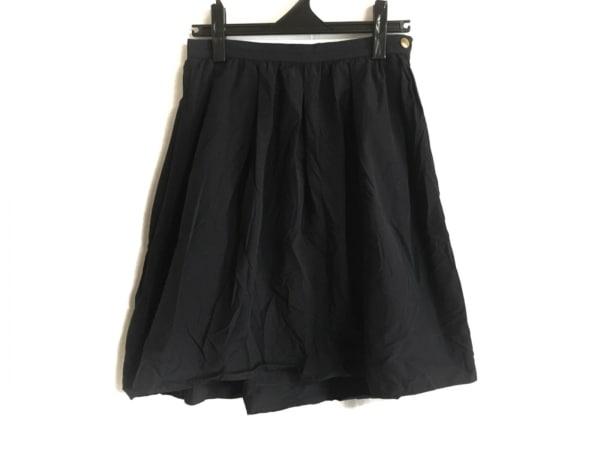 マッキントッシュフィロソフィー スカート サイズ2 M レディース ダークネイビー