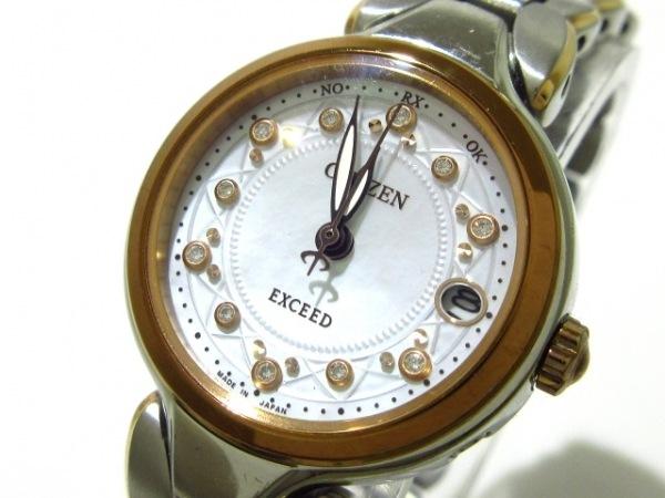 CITIZEN(シチズン) 腕時計 エクシード H058-T018793 レディース 白