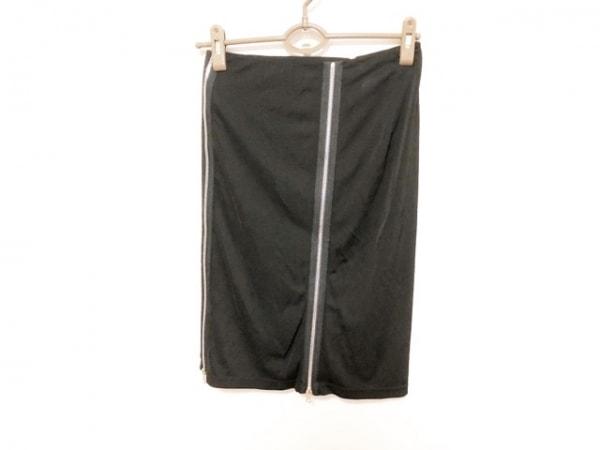 JeanPaulGAULTIER(ゴルチエ) スカート サイズ38 M レディース美品  黒 ジップアップ