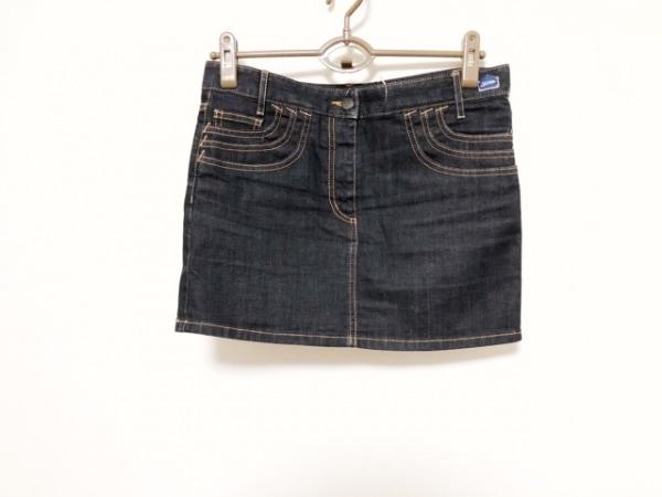 ゴルチエ ミニスカート サイズ26 S レディース美品  ネイビー デニム