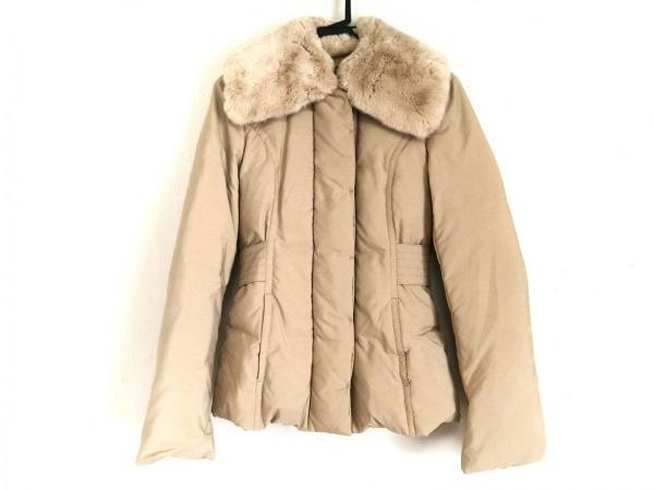 HUGOBOSS(ヒューゴボス) ダウンジャケット サイズ36 M レディース ベージュ