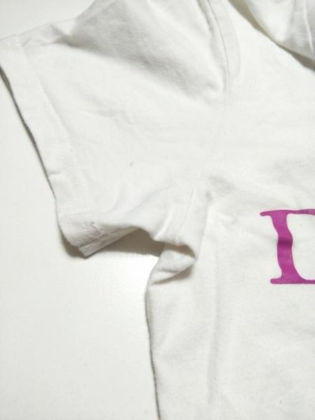 DRESS CAMP(ドレスキャンプ) 半袖Tシャツ サイズS メンズ 白×ピンク