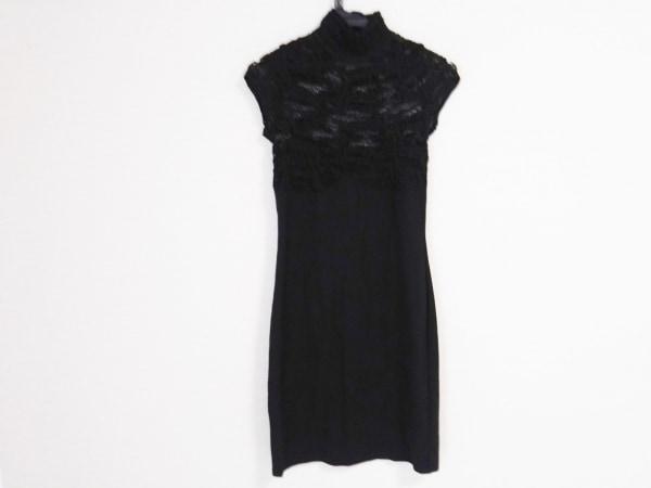 ETINCELLE(エタンセル) ワンピース レディース 黒 メッシュ/couture