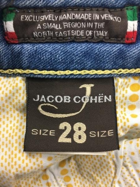 JACOB COHEN(ヤコブコーエン) ジーンズ サイズ28 L レディース ネイビー