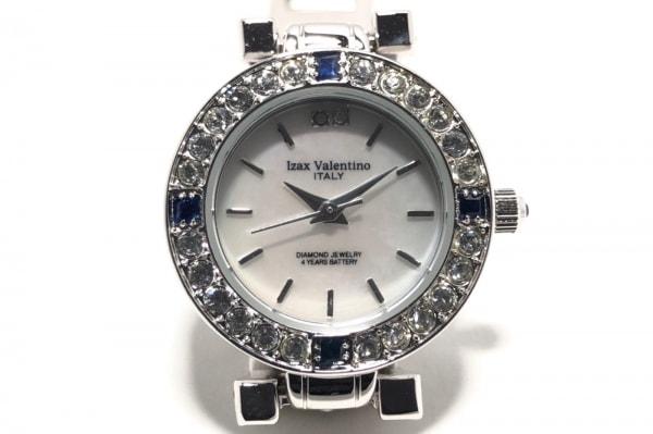 izax valentino(アイザックバレンチノ) 腕時計 IVL-9100-1 レディース シェルホワイト