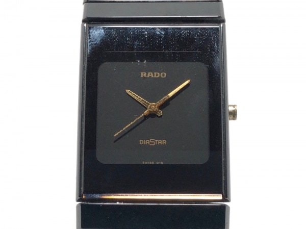 RADO(ラドー) 腕時計 ダイアスター 205.0295.3 レディース 黒