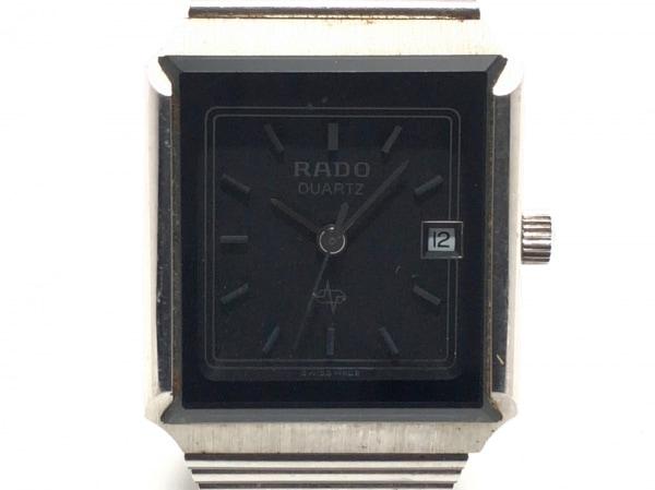 RADO(ラドー) 腕時計美品  不鮮明 レディース 黒