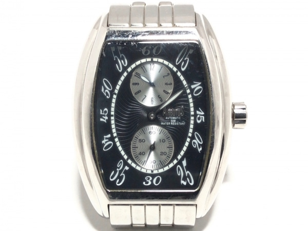 ARBUTUS(アルブータス) 腕時計美品  不鮮明 メンズ 裏スケ 黒