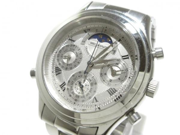 シェルマン 腕時計 グランドコンプリケーション 6771-H32167TA メンズ シルバー