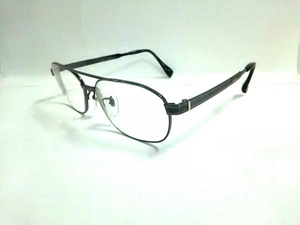 Aquascutum(アクアスキュータム) メガネ 12048 クリア×シルバー 度入り 金属素材