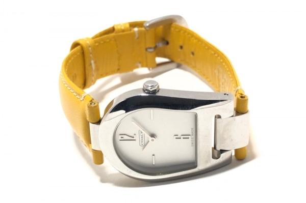 COACH(コーチ) 腕時計 0208 レディース 白