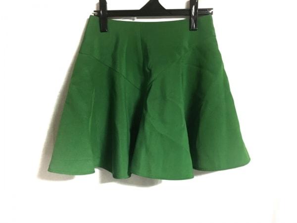 AKIRA NAKA(アキラナカ) スカート サイズ36 S レディース美品  グリーン