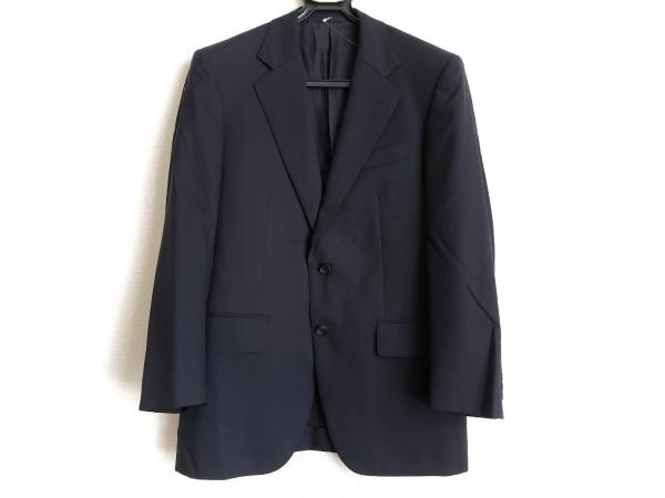 バーバリーロンドン ジャケット サイズA4 メンズ ダークネイビー 肩パッド