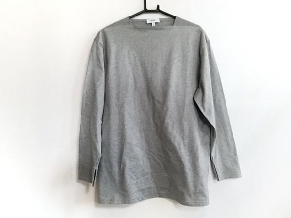 HYKE(ハイク) 長袖Tシャツ サイズ1 S メンズ美品  グレー